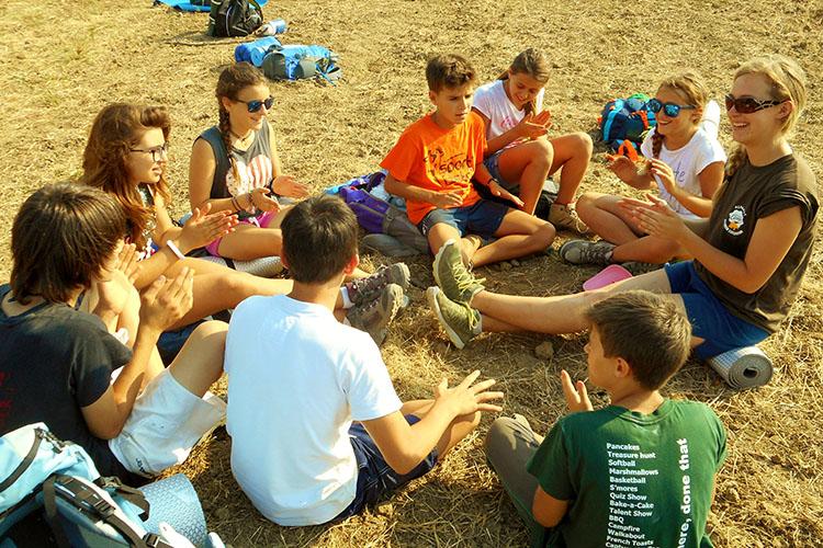 Занятия с преподавателем в Alphabet Camps, Ripabianca