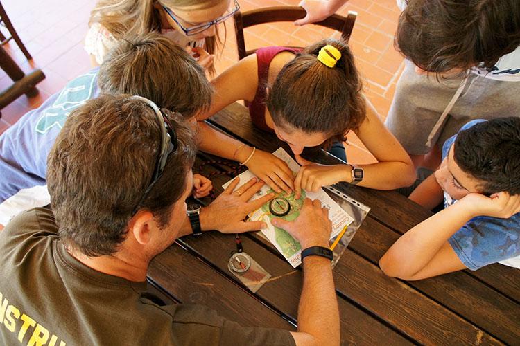 Процесс обучения в Alphabet Camps, Ripabianca