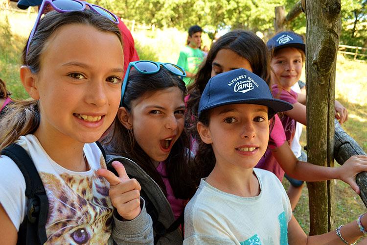 Студенты лагеря Alphabet Camps, Ripabianca