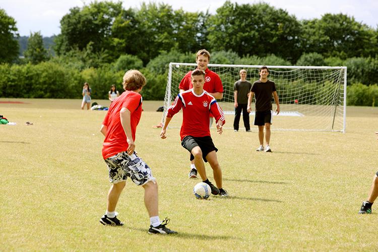Уроки игры в футбол в LAL, Winchester