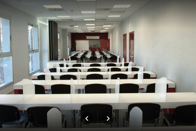 Аудитории в L'Escola Superior d'Hostaleria de Barcelona