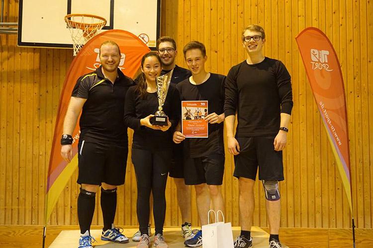 Спортивные занятия в Technische Universität Berlin