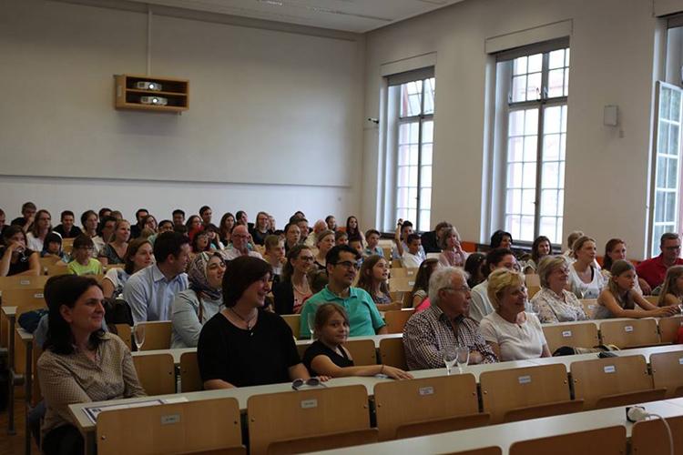 Одна из аудиторий Universität Mannheim