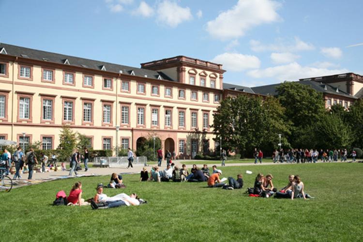 Территория при Universität Mannheim