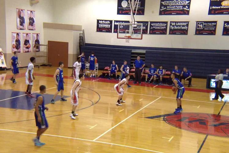 Соревнования по баскетболу в Windermere Preparatory School