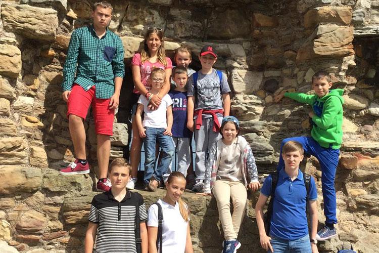 Студенты Kilgraston Summer School на экскурсии