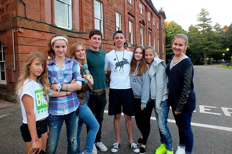 Студенты Kilgraston Summer School