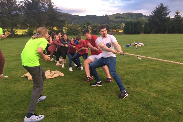 Спортивные соревнования в Kilgraston Summer School