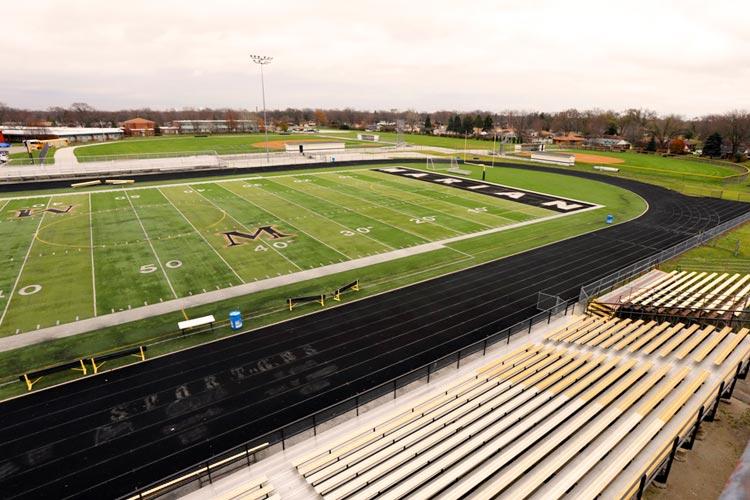 Футбольное поле Marian Catholic High School