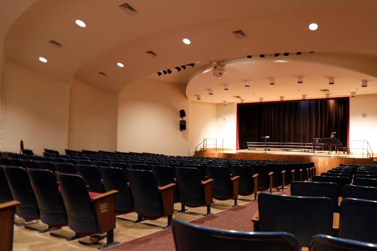 Концертный зал Marian Catholic High School
