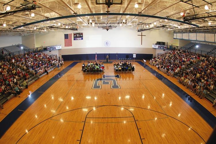 Спортивный зал Lexington Catholic High School