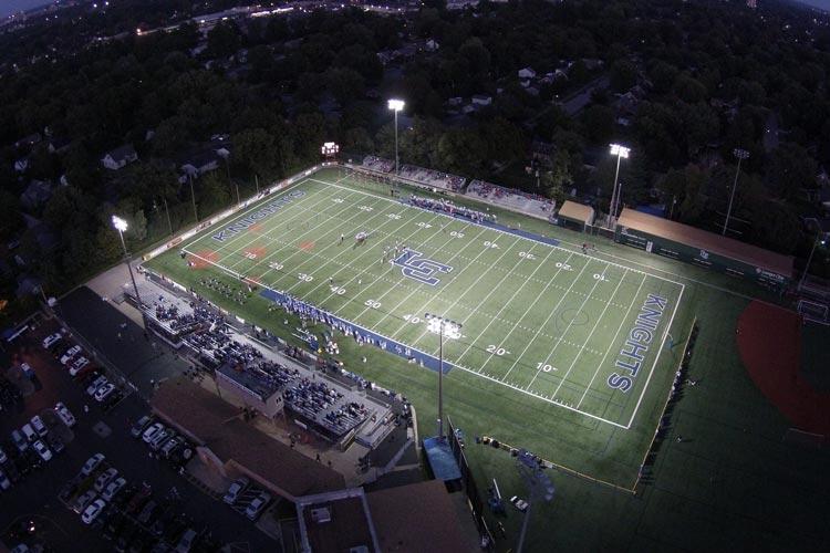 Футбольное поле Lexington Catholic High School