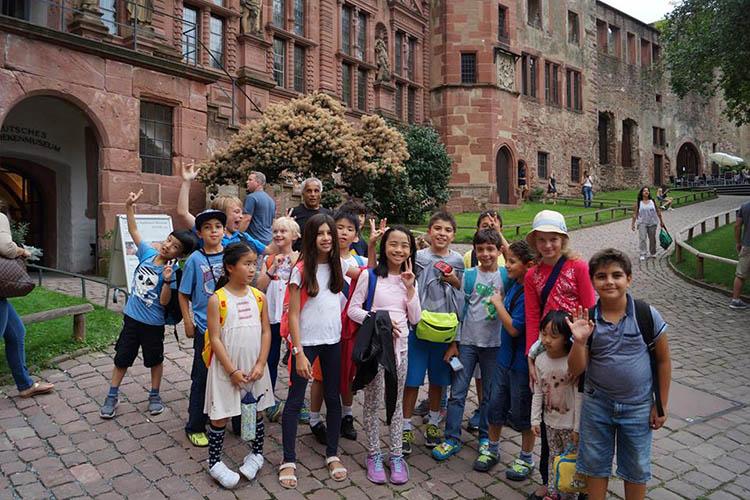 Студенты F+U Academy of Languages на экскурсии