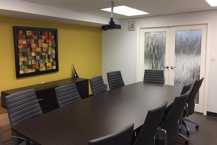 Переговорная комната в CLLC, Toronto
