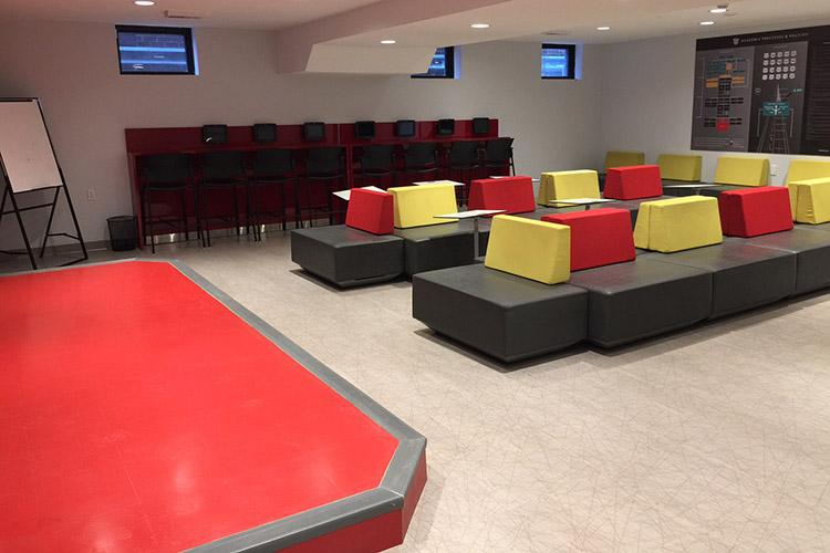 Комната отдыха в CLLC, Toronto