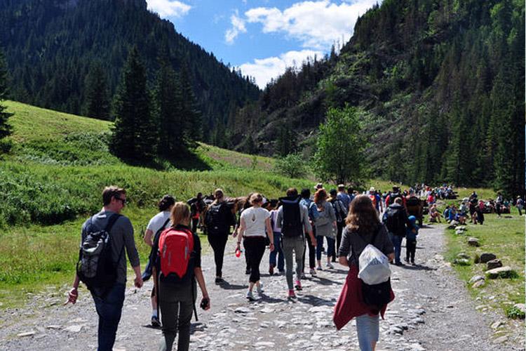 Поход в горы Explorersˈ Summer