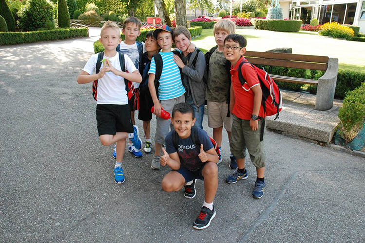 Студенты College Du Leman, Summer Camps