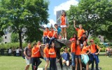 Студенты Bronte College, Summer Camp на прогулке