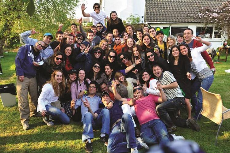 Студенты Atlas Junior Galway на экскурсии
