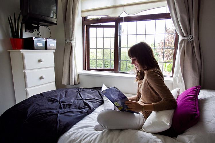 Комната студента доме принимающей семьи по программе Atlas Junior, Dublin