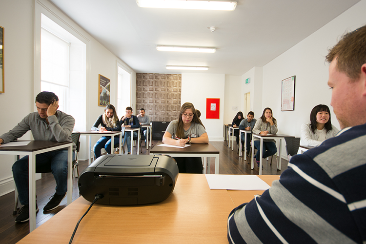 Студенты Atlas, Dublin на обучении