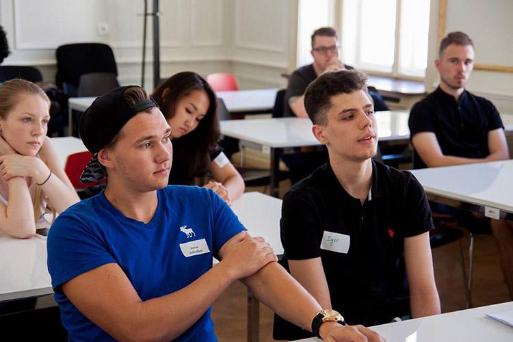 Студенты AAU на занятиях