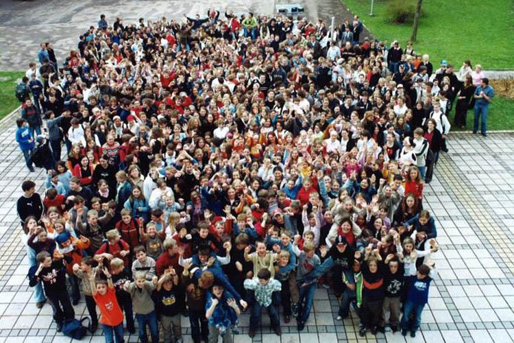 Студенты Gymnasium Lindenberg