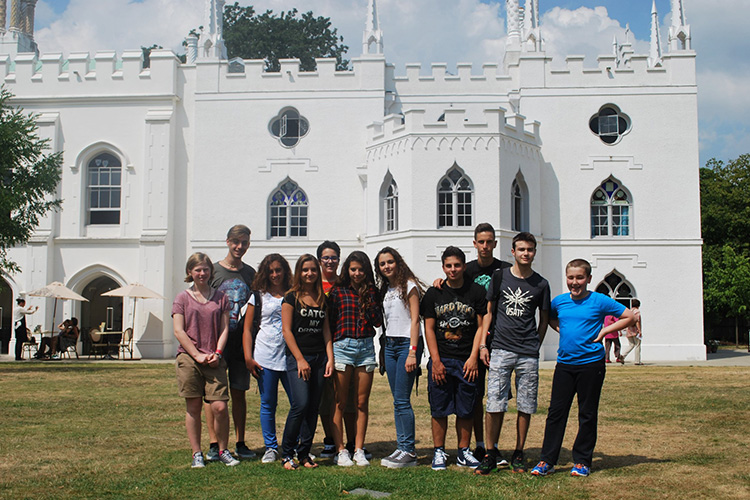 Студенты LAL, London на экскурсии