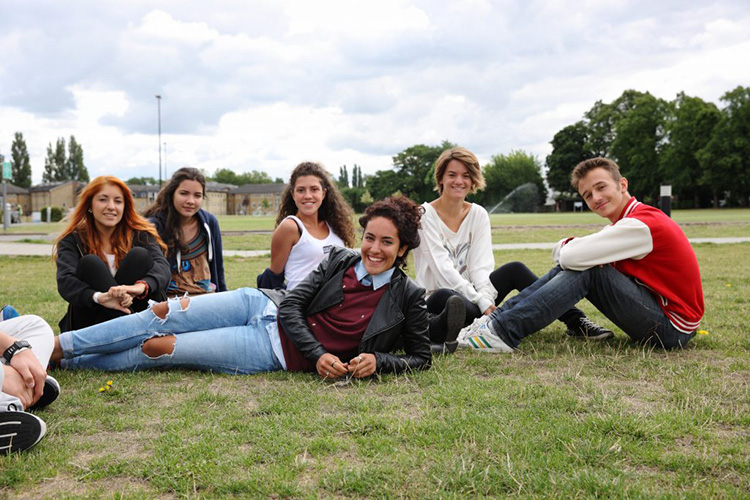 Студенты LAL, London на отдыхе