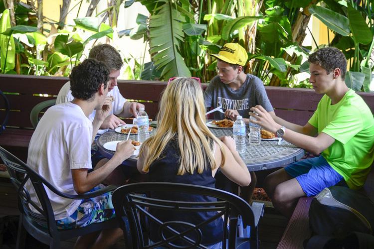 Студенты LAL, Fort Lauderdale