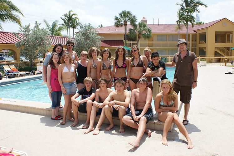 Студенты LAL, Fort Lauderdale на отдыхе