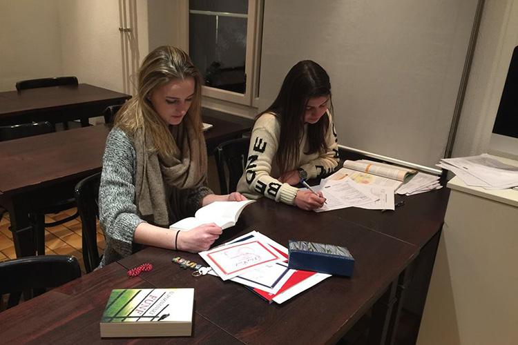 Обучение студентов в Institut auf dem Rosenberg