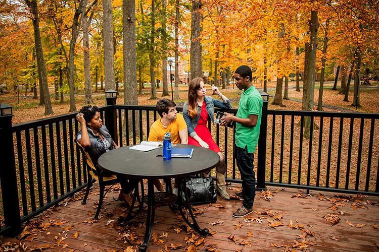 Студенты INTO Summer, Drew University