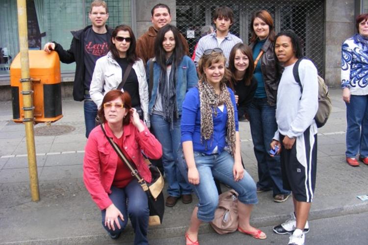 Студенты Carl Duisberg, Berlin на экскурсии
