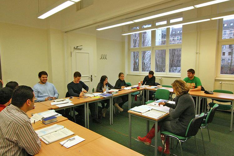 Обучение студентов Carl Duisberg, Berlin