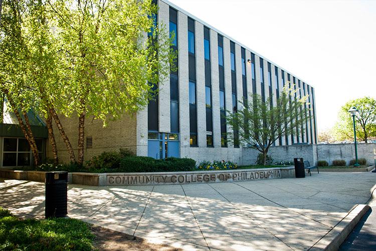 Учебный корпус Community College of Philadelphia