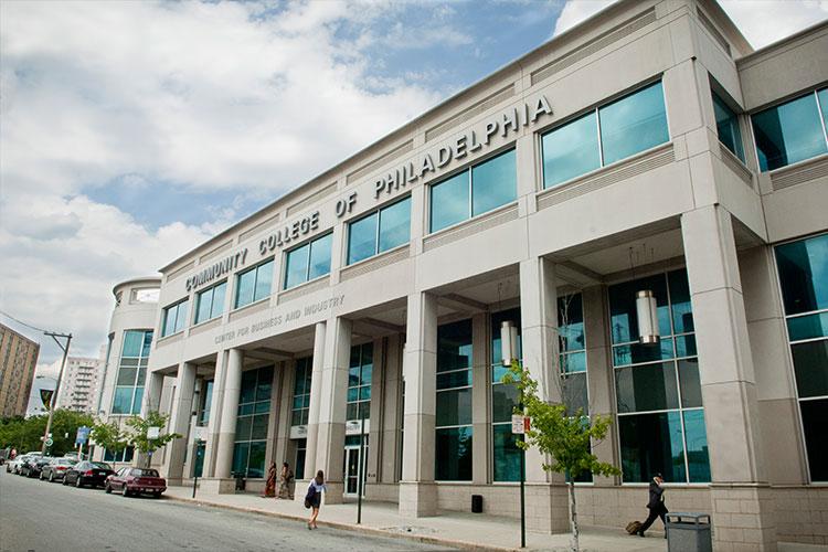 Корпус Community College of Philadelphia