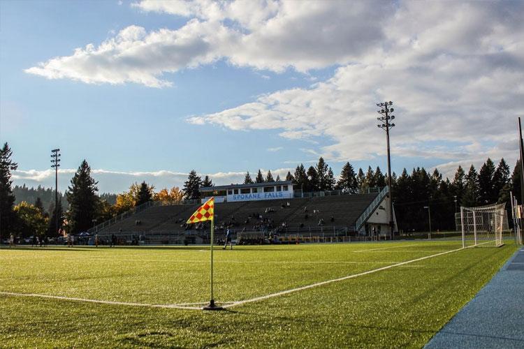 Футбольное поле Community Colleges of Spokane