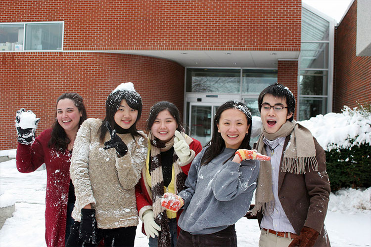 Студенты Community Colleges of Spokane