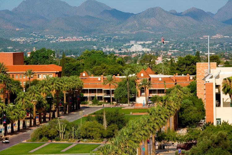 Кампус The University of Arizona