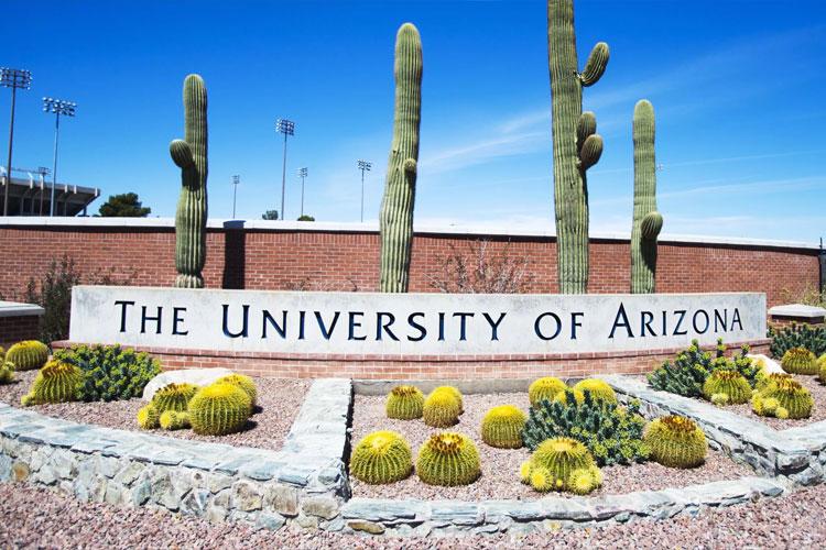 Вход на кампус The University of Arizona