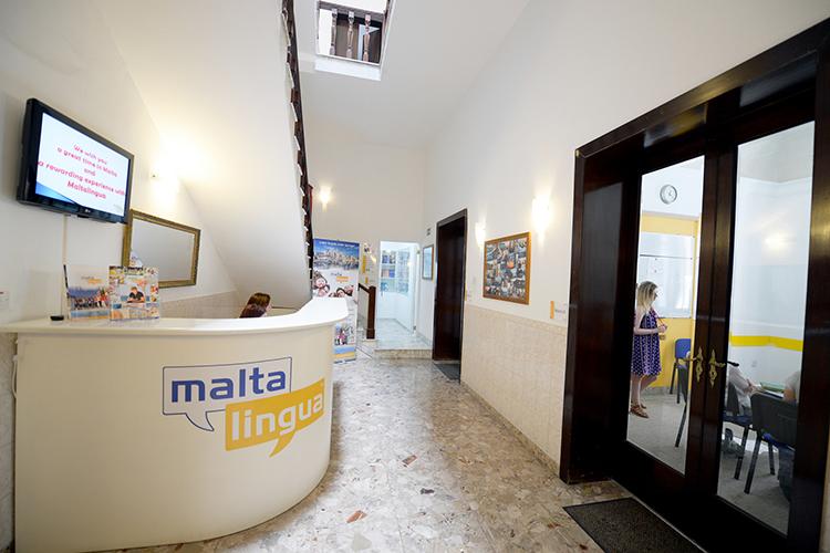 Ресепшн Maltalingua