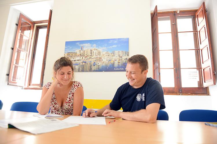 Индивидуальные занятия в Maltalingua
