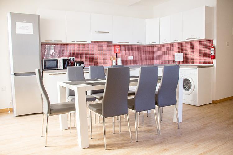 Кухня в резиденции Maltalingua