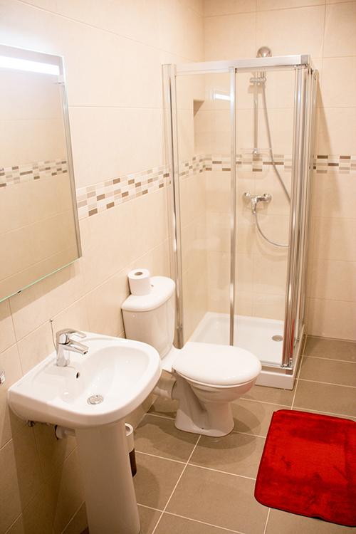 Ванная комната в апартаментах Maltalingua