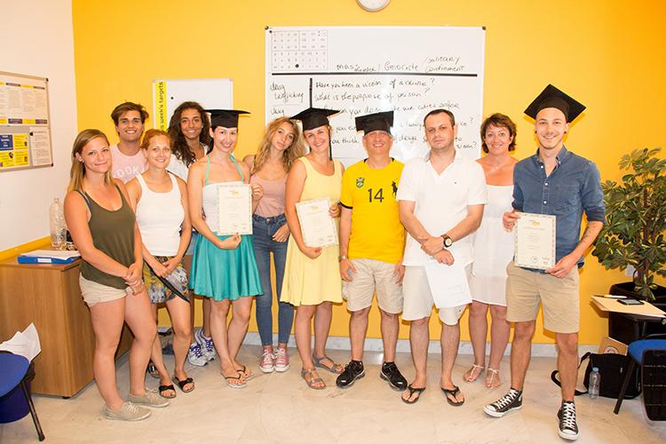 Выпускники школы Maltalingua