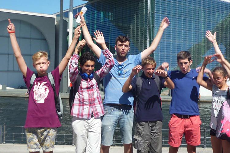 Студенты Alpadia, Berlin-Wannsee
