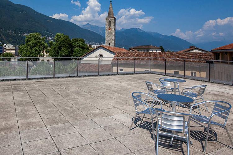 Вид из школы Alpadia, Ascona