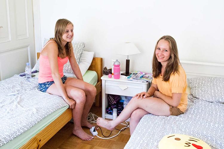 Комната студента в Alpadia, Montreux-Riviera
