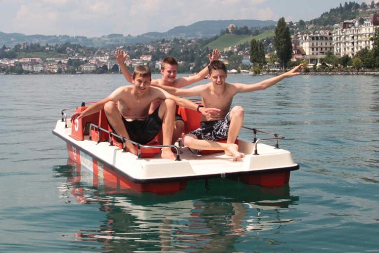 Досуг студентов в Alpadia, Montreux-Riviera